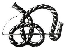Простой плетеный помпон Theory24