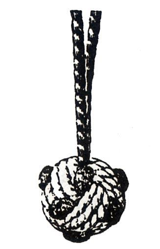 Плетеный помпон с пико