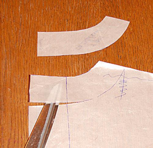 Выкройки деталей женского жакета