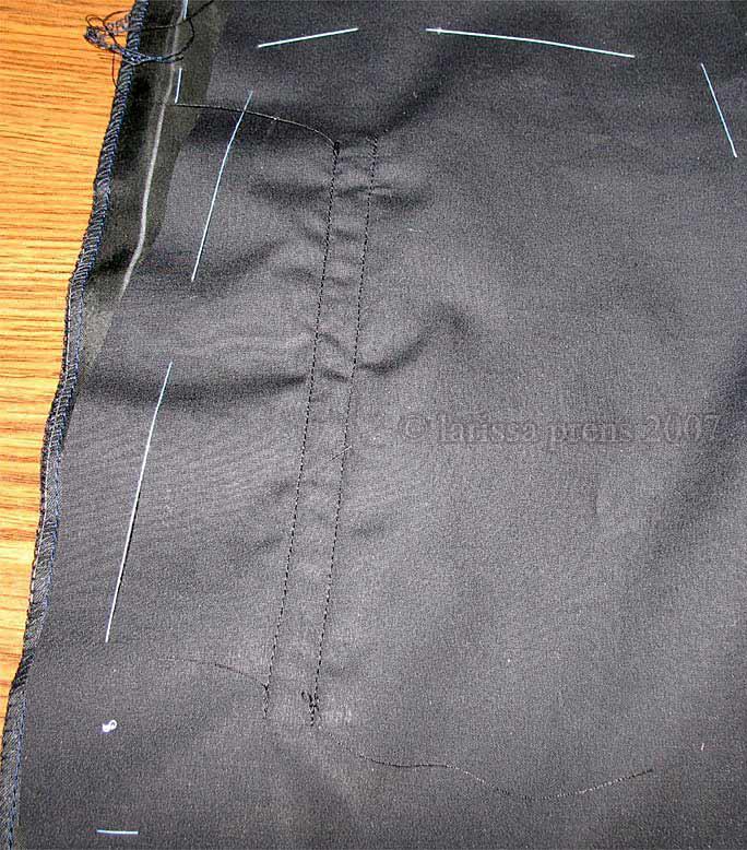 Как сделать карманы на штанах 963